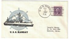 USS RAMSAY, December 11, 1937, LAST DAY / COMMISSION