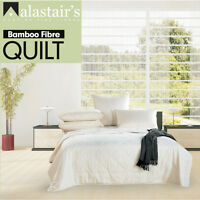 ALASTAIRS BAMBOO SUMMER LIGHT QUILT Doona Quilt Single Double Queen King Super
