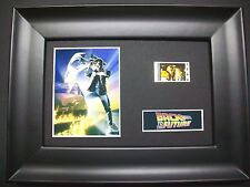 BACK TO THE FUTURE Framed Movie Film Cell Memorabilia Compliments poster dvd vhs