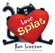 SPLAT THE CAT Love Splat (Brand New Paperback Version) Rob Scotton