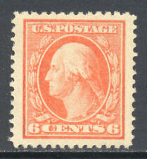 United States US 1911 6¢ Washington (#379) MNH XF Jumbo CV$80
