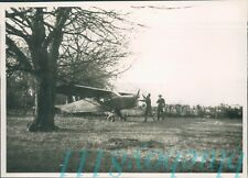 Orig WW2 Photo Operation Bodyguard D Day Deception Ariel Photo Plane