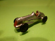 DINKY TOYS 35B MIDGET RACER - F1 SILVER - DUBLO SIZE  - VERY GOOD CONDITION