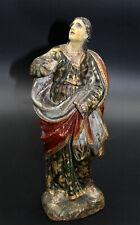 sehr schöne Barock Assistenzfigur, Heiligenfigur 18.Jahrhundert