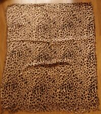 Scarf / Sarong / Beach Cover Up Beige with Animal Print New without Tags