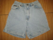 7852 Womens 8 Calvin Klein High Waisted Denim mom Jeans cuff shorts