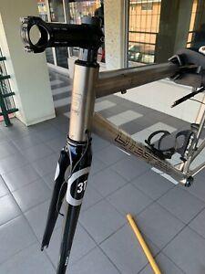 Litespeed T1SL Titanium bicycle frameset with 3T Regalia fork ML M/L Di2 or Etap