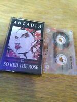 Arcadia So Red The Rose Cassette Tape Album Duran Duran Simon Le Bon