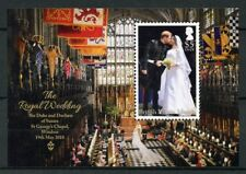 British Virgin Islands BVI 2018 MNH Prince Harry & Meghan 1v M/S Royalty Stamps