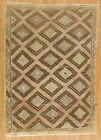 Momeni Heirlooms Kelim Hand Knotted Wool Brown Area Rug 6 3  X 8 9