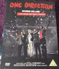 ONE DIRECTION WHERE WE ARE LIVE FROM SAN SIRO STADIUM*DVD*CONCERT*