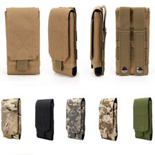 Universal Tactical Molle Army Bag Mobile Phone Belt Loop Hook Case Pouch Holster