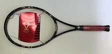 "WILSON [k] FACTOR GOLD LIMITED EDITION SERENA TENNIS RACQUET 4-3/8"" NEW RARE"