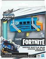Nerf Fortnite Micro Battle Bus Microshots Blaster - Children's Toy Dart Gun NEW