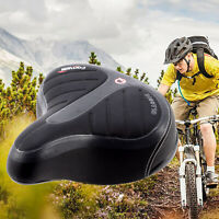 Wide Big Bum Bicycle Cycling Road Bike Mountain Bike Seat Saddle Extra Comfort