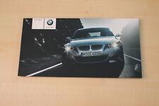 68911) BMW M5 E60 Prospekt 02/2004