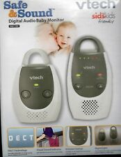 NEW Baby Monitor VTech BM1100 Safe & Sound Audio