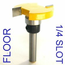 "1 pc 1/4"" SH Flooring for Undercutting Slot Floor Router Bit S"