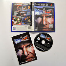 [ PS2 ] Smack Down ! vs Raw PAL INGLESE Usato Con Manuale Buono Playstation 2