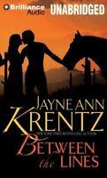 Between the Lines by Jayne Ann Krentz (2012 CD Unabridged) Audio Book Free Ship!