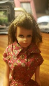 Vintage francie doll With Outfits