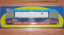 ATHEARN 7255 HUSKY STACK WELL CAR WITH 2 CONTAINERS SOUTHERN PACIFIC SP 513906