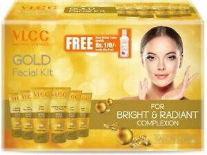 VLCC GOLD FACIAL KIT + FREE ROSE WATER TONER | 300GM + 100ML For Women