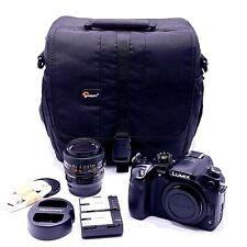 Panasonic LUMIX GH4 16MP 4K Mirrorless Camera DMC-GH4 + 50mm Minolta Lens