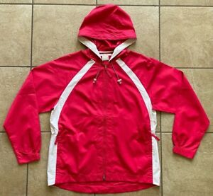 NIKE GOLF Women's Anorak Packable Jacket--Flame--Clima-FIT--Medium-NWT