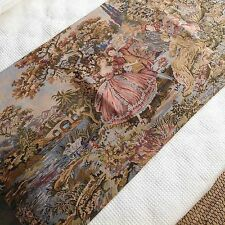 Fench Country Bed Runner / Bed Scarf Victorian Style Cotton Tapestry 68x200cm