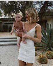 Shona Joy Savannah Linen Mini Dress Size 8 RRP $295