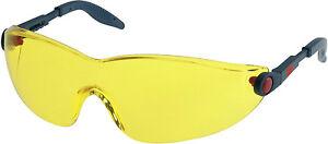 3M 2742 Schutzbrillen 2742 Kunstoff EN 166 gelbe Tönung