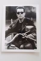 Terminator 1984 Movie Photograph ARNOLD SCHWARZENEGGER Black & White Promo VTG