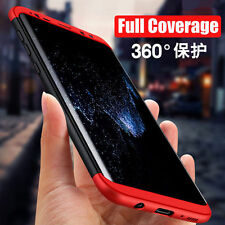 "For Samsung Galaxy S8 Plus"" New 3 in1 Luxury Matte Finish Hybrid Back Case Cover"