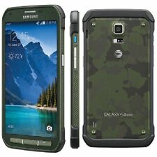 Samsung Galaxy S5 Active SM-G870A 16GB Newtork Unlocked Smartphone Grade Colors