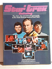 Vintage 1979 Star Trek Catalog Reference Book- 160 Pages w Photos- UNREAD!