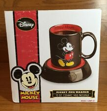 Disney Mickey Mouse Mug Coffee Warmer Tea Milk Cup Heater Hot Office Home Gift
