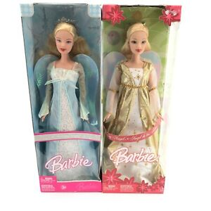 Barbie Dolls Holiday Angel 2005 and 2006