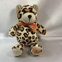 Reese's Peanut Butter Cup Teddy Bear Leopard Print