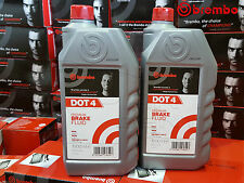 BREMBO PREMIUM FULLY SYNTHETIC BRAKE And CLUTCH FLUID Dot 4 Dot4 1L 2L 1 2 Litre