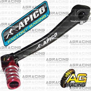 Apico Black Red Gear Pedal Lever Shifter For Honda CRF 70 2015 MotoX Pit Bike