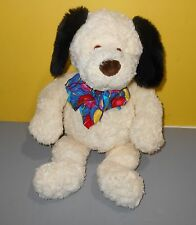 "18"" Toys For Target Designed by Gund White Puppy Dog Stuffed Plush w/Balloon Bow"