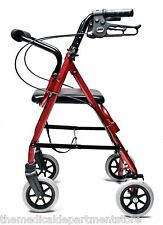 "Walkabout Junior 4 Wheel Rollator Walker Pediatric, For users 4'6"" - 5'3"" tall"