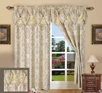 New Window Curtains 84 Inch Long Curtain Panels Set Of 2 Drapes For Living Room