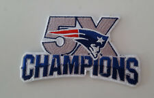 NFL Patch ricamate New England Patriots 5 x PATCH CHAMPIONS