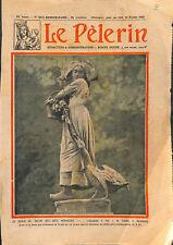 Gänseliesel statue l'Alsacienne à l'oie par Albert Schultz  ILLUSTRATION 1931