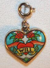 Disney - Charm It – Will Turner Heart Charm © Disney Pirates of the Caribbean