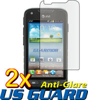 2x Anti Glare Matte LCD Screen Protector Cover Samsung Galaxy Rugby Pro SGH-i547