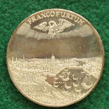 1972 Hessische landesbank Frankfurt Silver medallion SNo35128