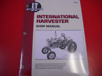 Farmall I&T Tractor Shop Service Repair Manual A B C H M MD W6 W9 Super IH8